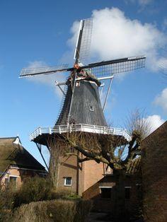 Flour and grinding mill De Hoop, Garsthuizen, the Netherlands