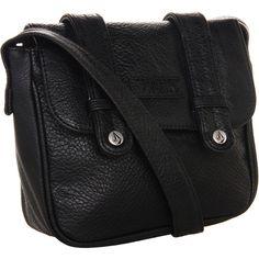 Volcom Look Back Shoulder Bag (€29) ❤ liked on Polyvore featuring bags, handbags, shoulder bags, accessories, purses, bolsas, black, flap purse, shoulder bag purse and man bag