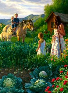 Country Family life