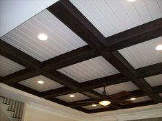 Ayscues trimwork inc raleigh custom ceilings trey for Box beam ceiling