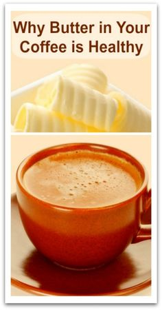 """""""Why Butter in Your Coffee is Healthy » Natural Holistic Life"""" - I've read about this before - may have to give it a try!"""