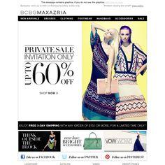 BCBG MAX AZRIA - Private Sale - Up to 60% Off