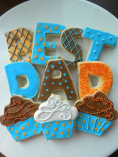 Father's Day or birthday cookies!