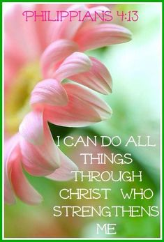 Philippians King James Version (KJV) I can do all things through Christ which strengtheneth me. Biblical Quotes, Bible Verses Quotes, Bible Scriptures, Spiritual Quotes, Healing Scriptures, Healing Quotes, Godly Quotes, Bible Art, Favorite Bible Verses