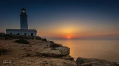 Sunset at the lighthouse - Formentera