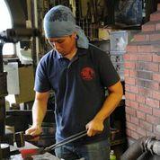 Blacksmith Yauji-san.