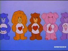 Ursinhos Carinhosos Abertura Original do SBT