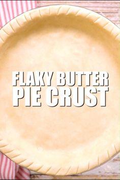 Easy Pie Crust, Homemade Pie Crusts, Pie Crust Recipes, Apple Pie Recipes, Baking Recipes, Homemade Pies, Pie Dough Recipe Easy, Quiche Crust Recipe, Pie Pastry Recipe