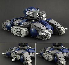 StarCraft 2 Siege Tank - Tank Mode | by Legopard