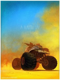 Mad Max: Fury Road by Nicolas Bannister *