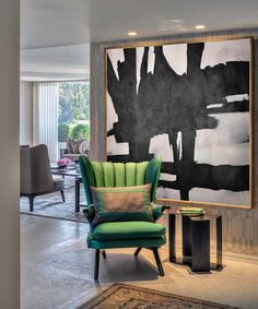 Original Artwork Extra Large Abstract Painting, Acrylic Painting Canvas Art Hand Painted Black White Pink Minimal Painting-Celine Ziang Art