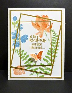 Stampin Along With Heidi: The Kindness You Show --- FM193
