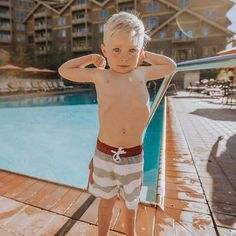 Cruise Jr. Swim Trunks