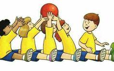 Gross motor skills and team work Physical Activities For Kids, Pe Activities, Motor Skills Activities, Gross Motor Skills, Preschool Activities, Kids Gym, Yoga For Kids, Exercise For Kids, Kids Education