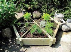 Gardener Herb Wheel - lovely for apartment gardening