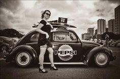 ♠ VW beetle girl