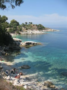 Beach in Kassiopi, Corfu