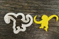 Barrel Monkey Cookie Cutter