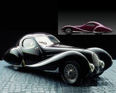 One of the most beautiful cars ever - 1937 - Talbot-Lago Figoni-Falaschi Coupe