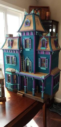 Beacon Hill Dollhouse, Haunted Dollhouse, Haunted Dolls, Dollhouse Kits, Dollhouse Miniatures, Victorian Dollhouse Furniture, Miniature Furniture, Doll Furniture, Doll Painting