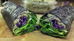 LIVER CLEANSING DIET FOODS - Raw Sunflower Sushi Wraps