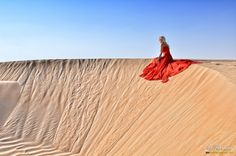 Red in the Desert III by Flariden dela Torre on 500px