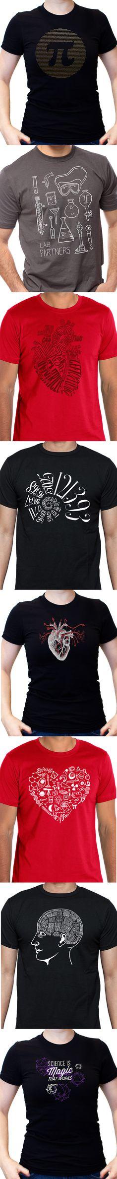 Science Tee Shirts