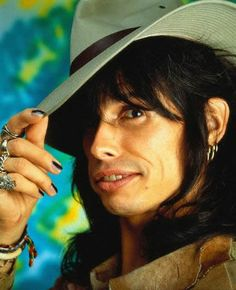 "~August 1987, USA --- Aerosmith's Steven Tyler sings and performs in the band's ""Dude Looks Like a Lady"" music video."
