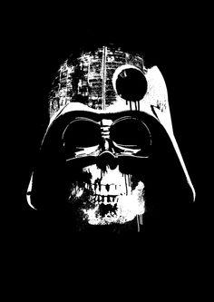 Awesome 'Darth+Vader+Death+Star' design on TeePublic! Death Star Tattoo, Star Wars Tattoo, Tattoo Stars, Tribal Tattoos, Tattoos Skull, Nerdy Tattoos, Star Wars Fan Art, Orion Tattoo, Darth Vader Death