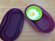 Oeuf coque au Micro ondes (cuiseur solo Tupperware)