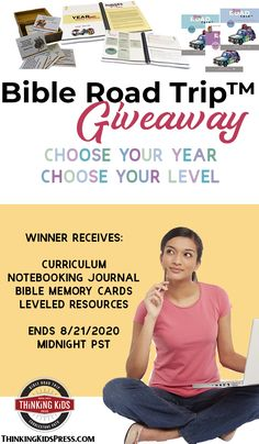 Bible Road Trip™ Giveaway | Choose Your Year Choose Your Level - Ends 8/21/2020  Bible Road Trip™ takes your family, preschool through high school, takes your family through Scripture in just 3 years. Giveaway ends 8/21/2020. Bible Crafts For Kids, Bible Lessons For Kids, Bible Atlas, Prayer For Family, Memory Verse, Bible Stories, 3 Years, Giveaways, Road Trip