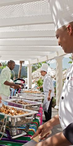 Riu Palace Costa Rica Buffet - outdoor buffet - Costa Rica food - All Inclusive Hotel - RIU Hotels.