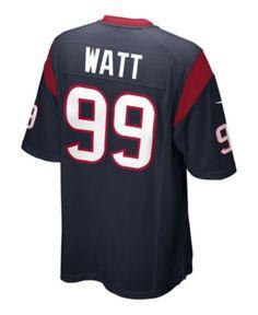 5cd1d8a6a Nike Men's Jj Watt Houston Texans Game Jersey - Blue 3XL Houston Texans  Game, Jj