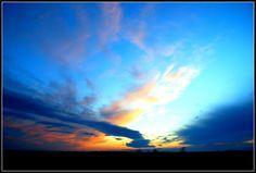 """""""No one does a sunset like Kansas"""""""