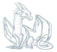 Animal Sketches, Art Drawings Sketches, Animal Drawings, Doodle Drawings, Dragon Poses, Fire Drawing, Drawing Art, Dragon Sketch, Dragon Artwork