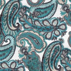 MEHENDI collection. The paisley leaf is a traditional symbol and used very often now days but stylized and various sizes and colours! I love this fabric and it's colours