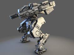 robot mecha tank max