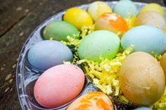 How to Dye Easter Eggs, with Natural and Organic Ingredients