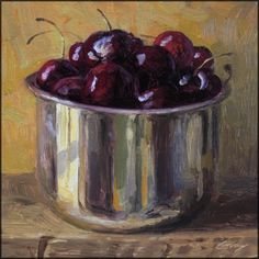 "Oil on board, 6"" x 6"" $125 plus $6 shipping, painting by artist Don Gray"
