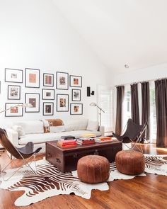 Sissy and Marley - living rooms - vaulted ceiling living room, living room vaulted ceiling, art over sofa, art above sofa, high back sofa, w...
