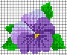"Looks like a pansy to me....Hibiscus flower perler bead pattern [   ""Learn to make your own colorful bracelets of threads or yarn. As fun for beginners as it is to intermedates. Learn. Get inspiration. Share ideas."",   ""Purple flower"",   ""pixels"",   ""pansy"" ] #<br/> # #Perler #Bead #Flower #Patterns,<br/> # #Beads #Flower,<br/> # #Beaded #Flowers #Patterns,<br/> # #Perler #Beads #Flowers,<br/> # #Bead #Flowers,<br/> # #Pansy #Cross #Stitch #Pattern,<br/> # #Pansy #Pattern,<br/> # #Fleurs…"