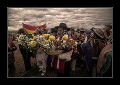 Asuncion de Evo Morales en Tiwanacu La Paz Bolivia