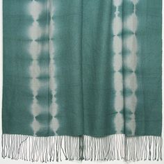 Kevin O'Brien Studio Shibori Tye-Dye 2-Ply Cashmere Merino Throw