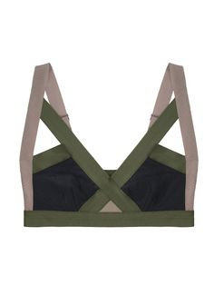 fan of these sort of camo-parachute military bras.  The wide straps rule