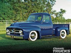 1955 Ford F-100 - Classic Trucks Magazine