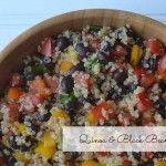 quinoa and black bean salad 2