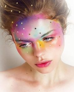 MUA : @lapetitevengeance Galaxy face