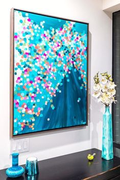 Colorful Abstract Art, Abstract Oil, Texture Painting, Dot Painting, Abstract Paintings, Oil Paintings, Zen Art, Animal Decor, Large Wall Art