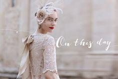 This hat-lace thing is great. Now I just need to be that pale......  Spring 2013 | B-Inspired | BHLDN