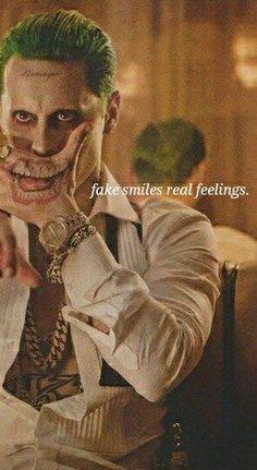Fake smile -real feelings Suicide squad art joker